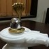 Parad Shivling weighing 1 kg placed on a white marble yoni along with a Golden Panchdhatu Nag