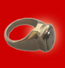 Parad Stone Finger Ring (M)